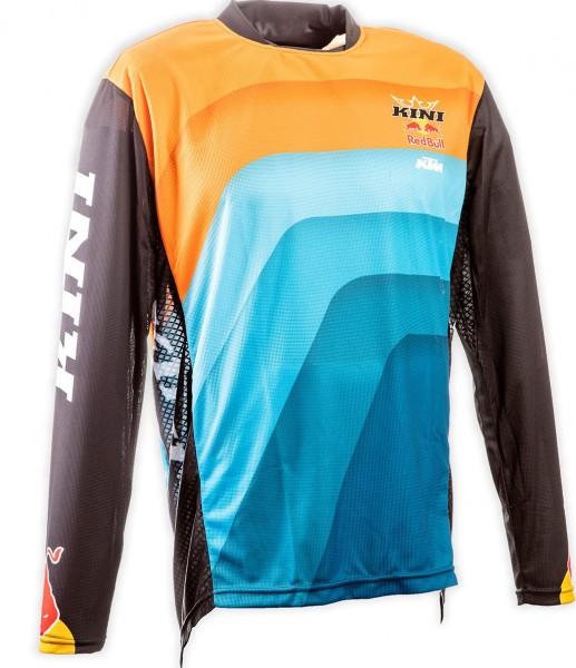 KINI Red Bull Vintage Shirt Orange/Blue/Black