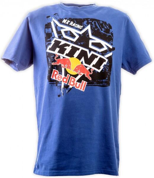 KINI Red Bull Square Tee True Blue