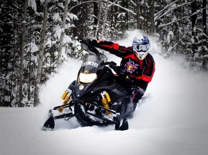 Kini Red Bull Snowmobile Set