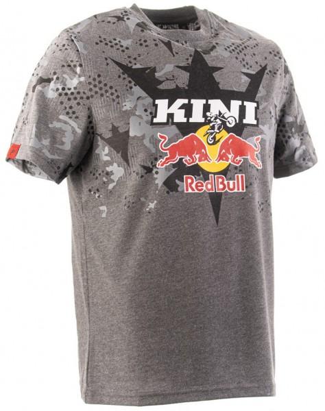KINI Red Bull Urban Camo Tee - Dark Grey