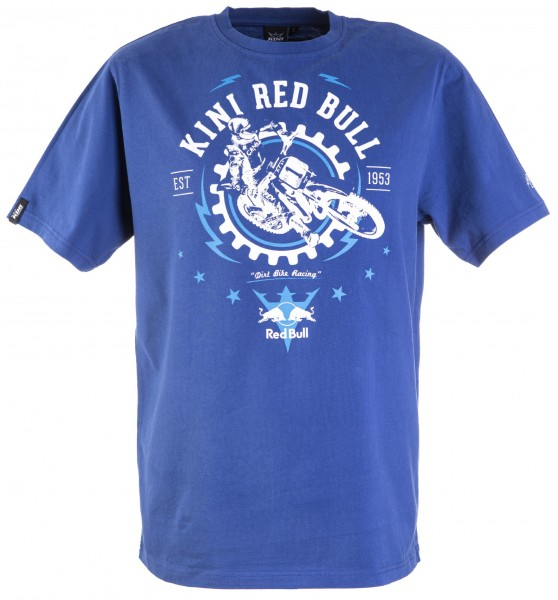 Kini Red Bull Gear Tee True Blue