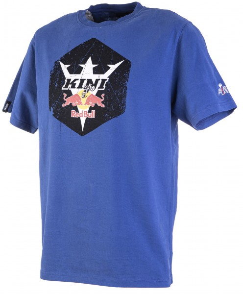 Kini Red Bull Hex Tee Blue