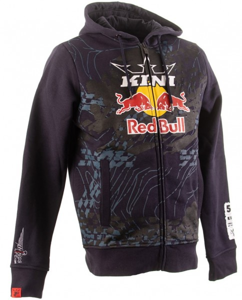 KINI Red Bull Topography Zip Hoodie - Night Sky