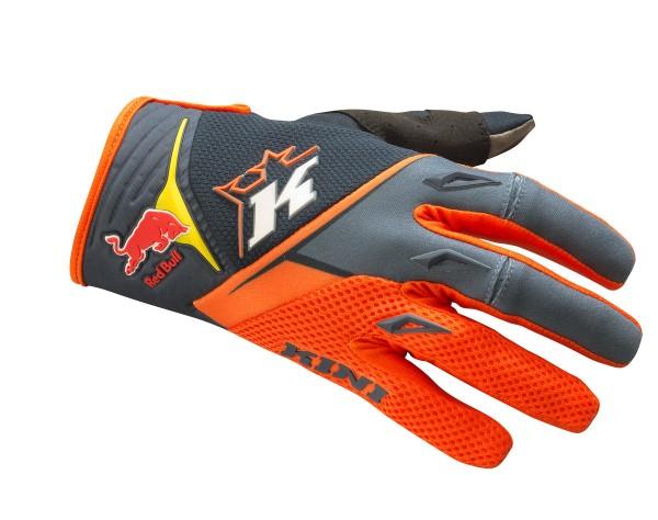 KINI Red Bull Competition Gloves V2.0 Orange/White/Grey