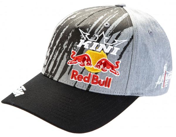 KINI Red Bull Corrugated Cap - Anthrazit/Grey