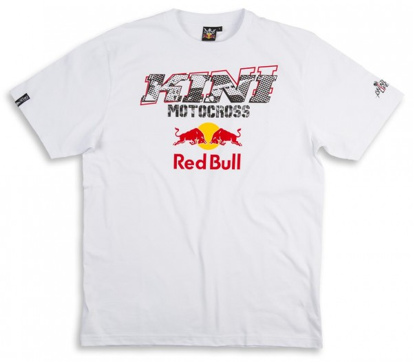 KINI Red Bull Evolution Tee White