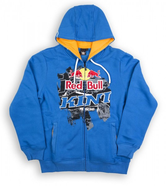 KINI Red Bull Collage Hoodie Blue