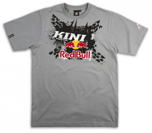 KINI-Red Bull X-UP Tee Grey