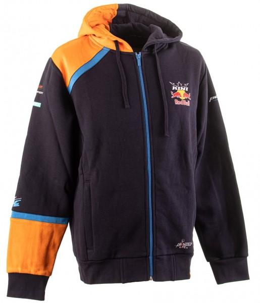 KINI Red Bull Team Hoodie Jacket - Navy/Orange