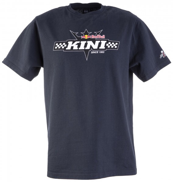 Kini Red Bull Finish Flag Tee Anthracite
