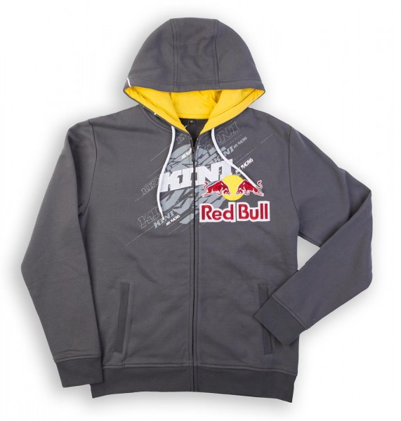 KINI Red Bull Dissected Hoodie Dark Grey