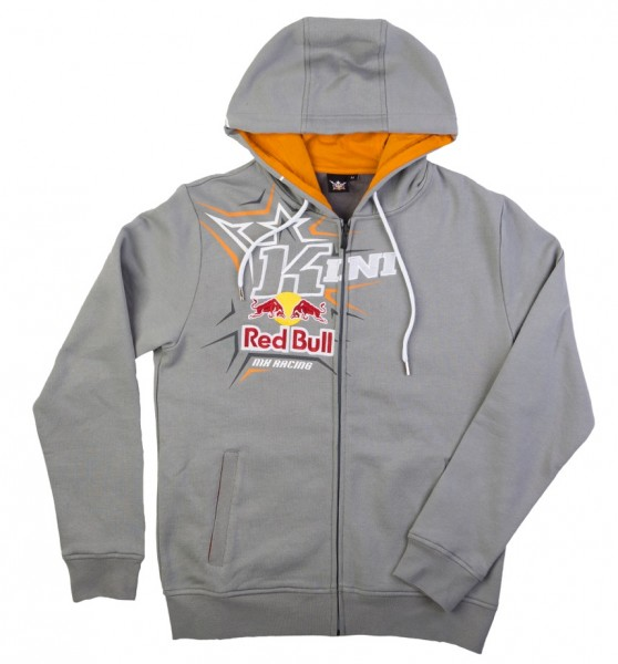 KINI Red Bull Spikes Hoodie Dark Grey