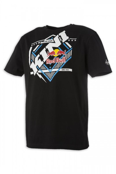 KINI Red Bull Slanted Tee Black