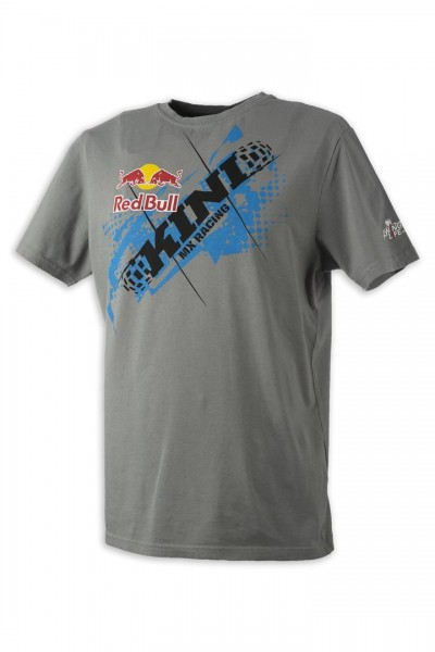 KINI Red Bull Chopped Tee Grey