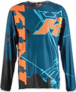 KINI Red Bull Revolution Shirt Black/Blue/Orange