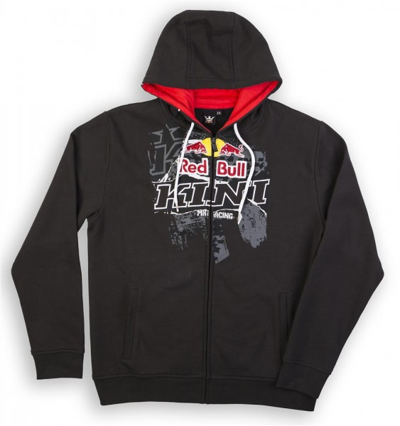KINI Red Bull Collage Hoodie Black