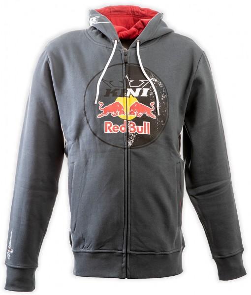 KINI Red Bull Circle Hoodie Dark Grey