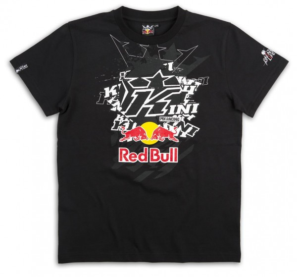 KINI-Red Bull Pasted K Tee Black