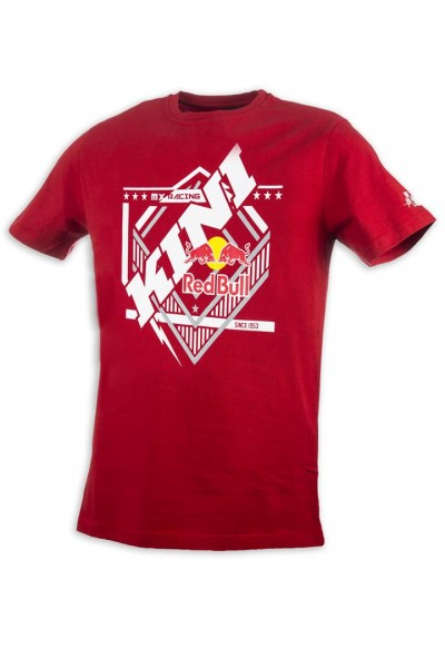KINI-Red Bull Kids Slanted Tee Red