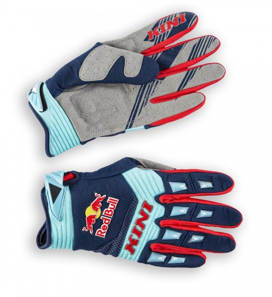KINI Red Bull Kids Competition Gloves Navy White
