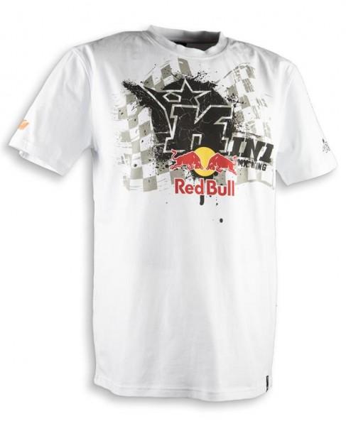KINI Red Bull Overspray Tee White