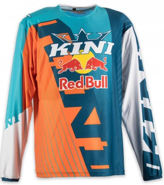 KINI Red Bull Competition Shirt Orange/White/Navy
