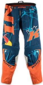 KINI Revolution Pants Black/Blue/Orange