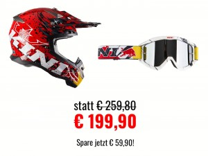 Kini Red Bull Revolution Helmet Set