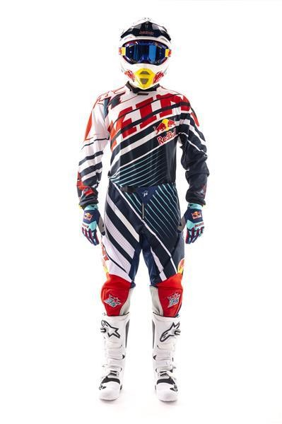 KINI Red Bull Kids Vintage Set Red/Blue