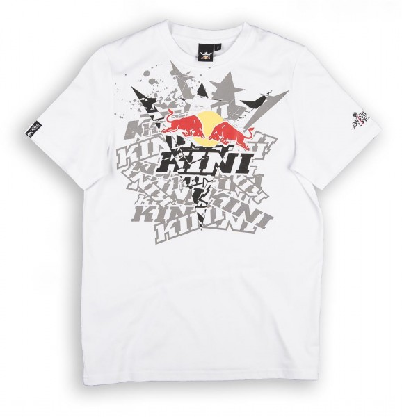 KINI Red Bull Fade Tee White