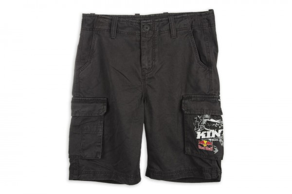KINI Red Bull Cargo Shorts Dark Grey