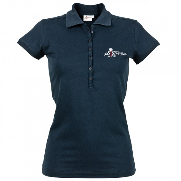 Wings For Life Polo Women Navy