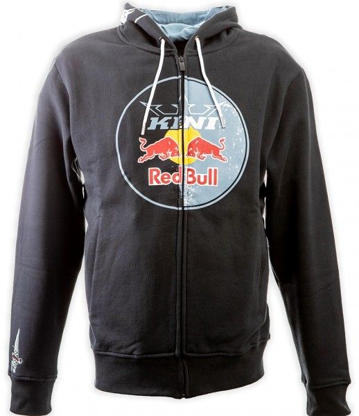 KINI Red Bull Circle Hoodie Anthracite
