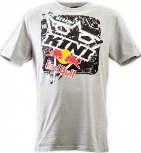 KINI Red Bull Square Tee Heather Grey
