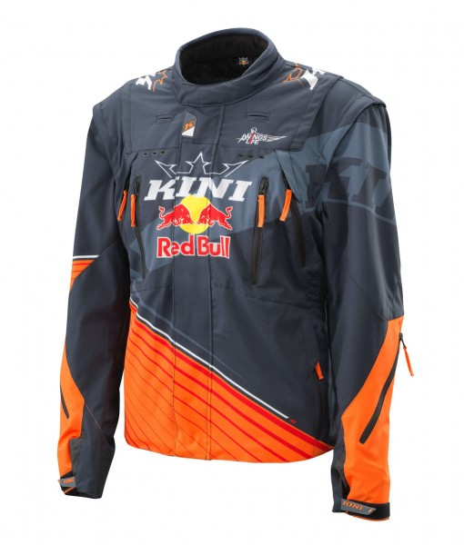 KINI Red Bull Competition Jacket V2.0 Orange/White/Grey