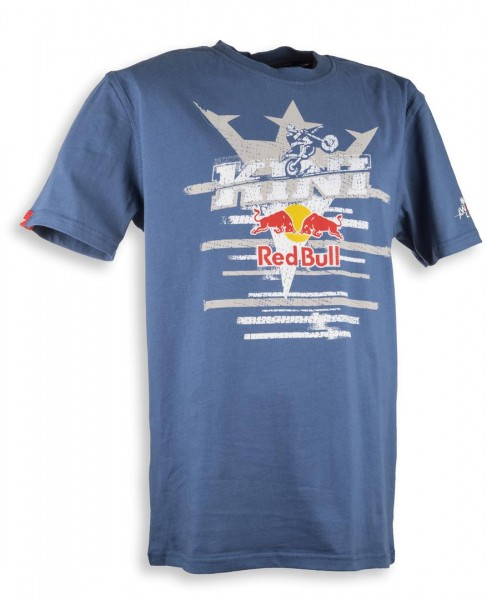 KINI Red Bull Steps Tee Blue Size L