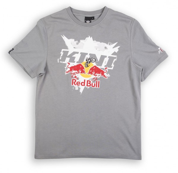 KINI Red Bull Interlaced Tee Grey