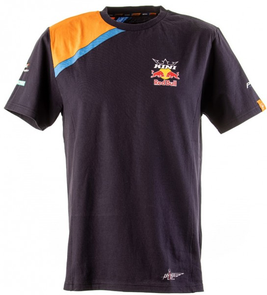 KINI Red Bull Team T-shirt - Navy/Orange