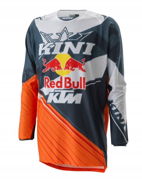 KINI Red Bull Compettion Jersey V2.0 Orange/White/Grey