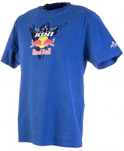 Kini Red Bull Corrugated Tee Blue