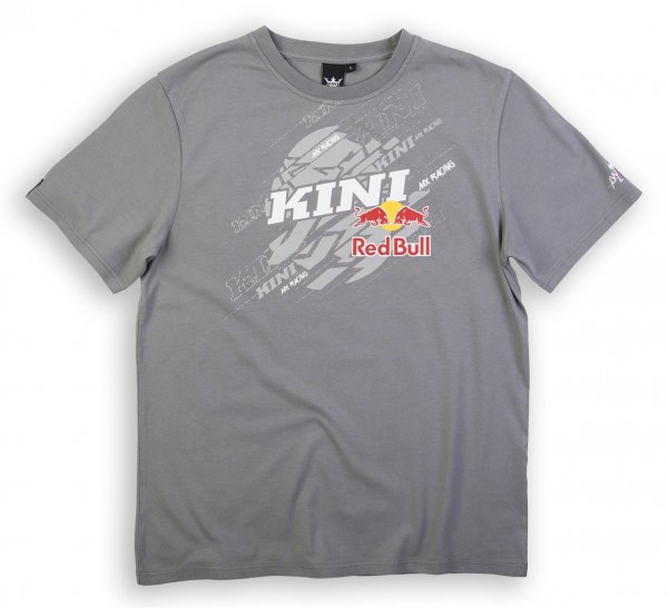 KINI Red Bull Dissected Tee Grey