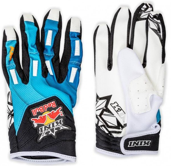 KINI Red Bull Vintage Gloves Blue/Black/White