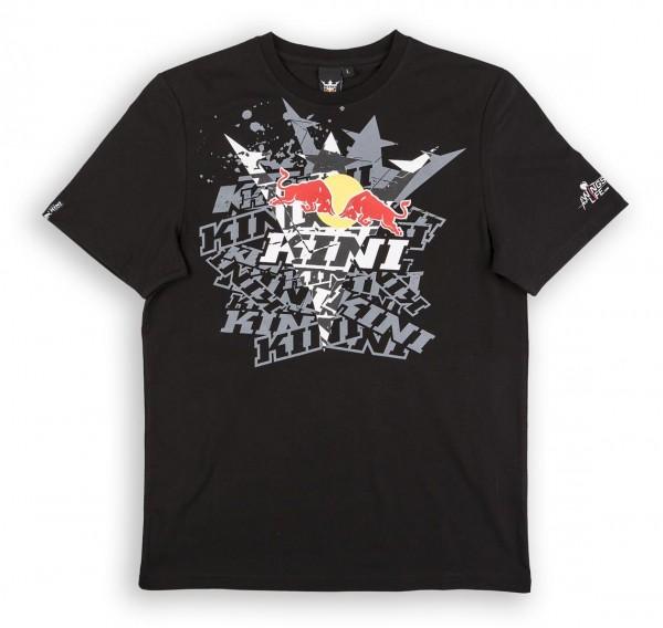 KINI Red Bull Fade Tee Black